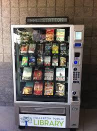 Library Vending Machine Simple Fullerton Public Library Vending Machine Book Geek Heaven