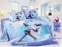 girls duvet covers. 100%cotton Perform Duvet Cover Sets/girls Bedding Sets Full Twin Sizet/anime Girls Covers W