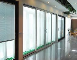 interior sliding glass door with 5mm 12a 5mm hollow glass interior sliding door with aluminum frame