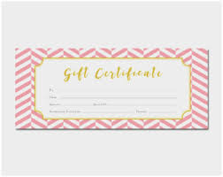 Gift Certificate Template Pages Best Of Free Blank Gift Certificate