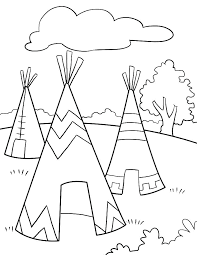 Native American Coloring Pages Native Coloring Pages Printable