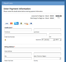 Credit Card Release Form Accept Credit Card Payments On Your Forms Using Stripe Html Form