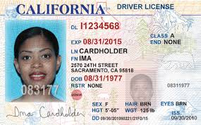 California Driver License Uber • Alvia