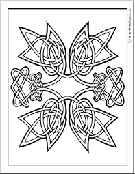 Just click on the icons, download the file(s) and print them on your 3d printer. 90 Celtic Coloring Pages Irish Scottish Gaelic