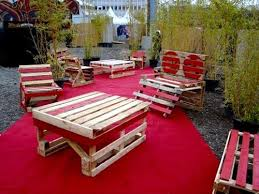 furniture out of wooden pallets. outdoor furniture make out from wooden pallets of