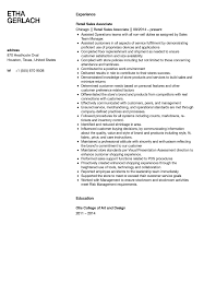 Resume Examples For Retail Associate Sales Associate Resume Sample Velvet Jobs 8