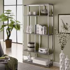 monarch specialties bookcase. Delighful Monarch Monarch Specialties Dark Taupe Wood 4Shelf Bookcase To I