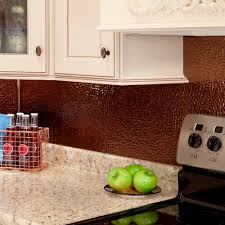 Kitchen Backsplash Panel Fasade 24 In X 18 In Hammered Pvc Decorative Backsplash Panel In