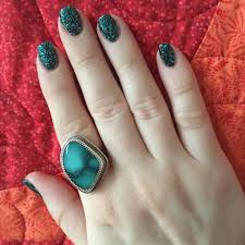 20+ Turquoise Nail Art Designs, Ideas | Design Trends - Premium ...