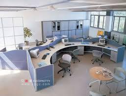 office workstation design. round workstations office furniture modern workstation design