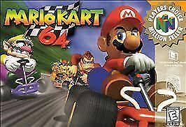 <b>Mario Kart 64</b> (64, 1997) for sale online   eBay