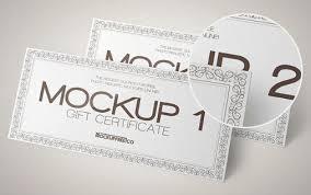 10 Nice Voucher Mockup Psd Templates Utemplates
