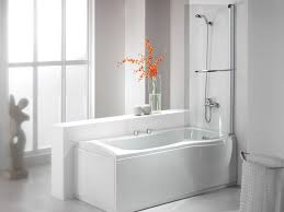 ... Bathtubs Idea, Corner Bathtub Shower Combo Corner Bathtub Shower  Combination High Gloss White Whirpool Jacuzzi ...