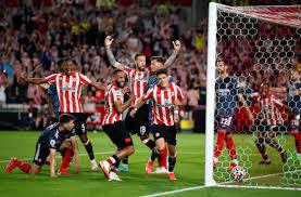 Brentford beat Arsenal 2-0 for dream ...