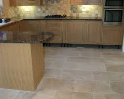 image of how to clean travertine tile floors