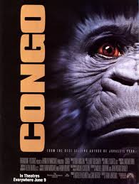 i just finished reading michael crichton s congo and compared to i just finished reading michael crichton s congo and compared to the movie version it s nothing to go ape over