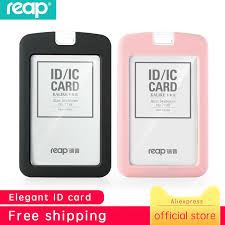 Badge Office Reap Silicon Exhibition Cards Id Card Holder Name Tag Staff