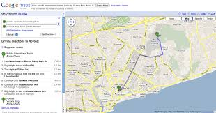 get directions to and from google maps  ambearme