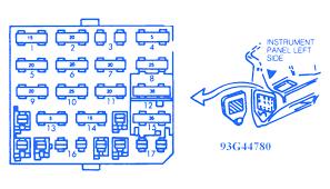 chevrolet corsica 1992 fuse box block circuit breaker diagram chevrolet corsica 1992 fuse box block circuit breaker diagram