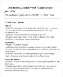 Project Manager Construction Resumes 32 Manager Resume Templates Pdf Doc Free Premium Templates