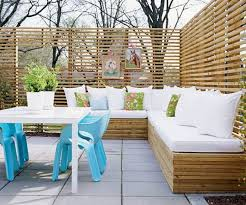 27 comfy l shaped benches for outdoors