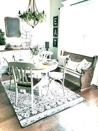 dining room table rug round rug under dining table rug under dining room table round dining