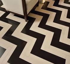 love this chevron patterned wood floor