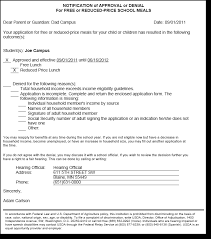 Printing Eligibility Notification Letters Infinite Campus