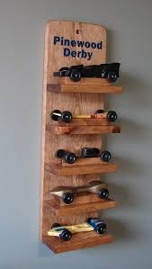 Pinewood Derby Display Stand