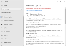 microsoft windows security updates