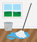 floor clipart. Fine Floor Cleaner Cleaning And Washing House Mop Wooden Floor On Clipart A