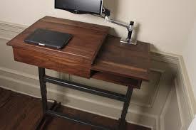 simple standing desk woodworking plans