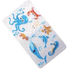 non slip bathroom accessories baby bath mats shower mat for kids 29 w x any