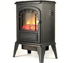 2 aspen free standing electric fireplace stove