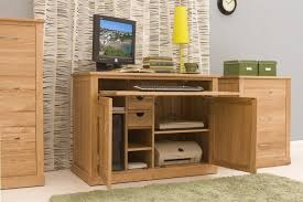 london solid oak hideaway home office computer. Oak Hidden Home Office. Solid Office Deskconran Modern Furniture Hideaway London Computer