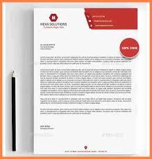 Letterhead Format Word Beauteous Company Letterhead Format In Ms Word 48 Creating Letterhead Template