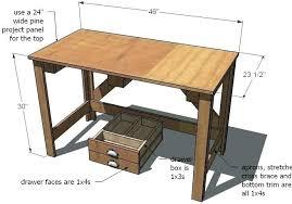 desk building plans simple kids desk stunning desk plans and desk blueprints  and furniture plans plans . desk building plans ...