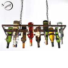 retro pendant lighting fixtures. discount recycled retro hanging wine bottle led ceiling pendant lamps e14 light for dining roombarrestaurant kitchen lighting fixture fixtures y