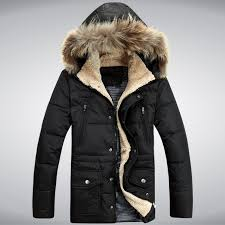 free men s fashion slim long down jacket hooded big pocket decoration zipper in the long section in parkas from men s clothing