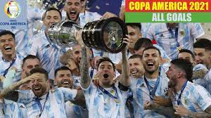 Copa America 2021 in Brazil. All Goals HD. - YouTube
