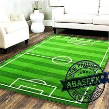 large football field rug baby kids football field play mat medium small large soft football carpet large football field rug