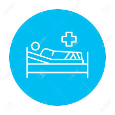 Infographics Icon Patient Cliparts Vectors For 49884866 Lying Free Illustration Royalty And Line Web Bed The Mobile Stock Image On