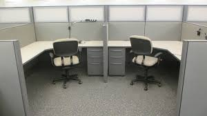 Office cubicle Glass 6x6 64u203348u2033 Haworth Premise Enhanced Used Cubicles With Frosted Glass Spine Amazoncom 6x6 Haworth Premise Used Cubicles With Frosted Glass Spine