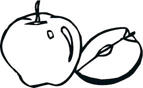 Apple Coloring A For Apple Coloring Book Kindergarten Apple Coloring