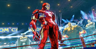 street fighter 5 iron man mod and baby metal karin mod surface