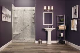 Bathtub to shower conversion pictures Tile New Pompeii Marble With Cayman Shower Door Bath Planet Tub Conversions Tub To Shower Conversion Bath Planet