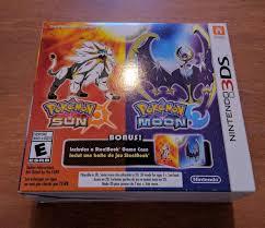 Pokemon Sun and Moon Steelbook Edition - Les jeux diamant