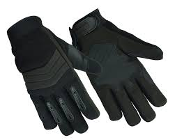 air cooled police glove with kevlar
