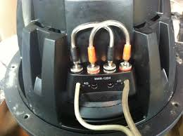what is correct way to wire alpine type r sub to 2 ohms pics attached this pic is what made sense to me is this correct wiring for 2 ohm