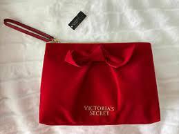 victoria secret makeup bag red velvet